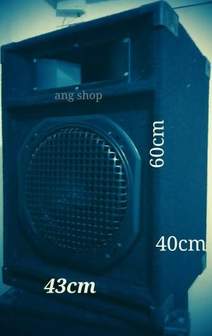 Salon Speaker Passive / Pasif 12