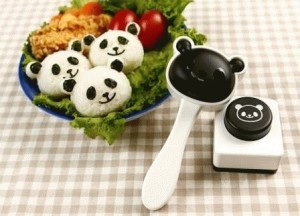 harga Cetakan Bento Panda with Nori Puncher/ Cetakan Nasi Panda Tokopedia.com