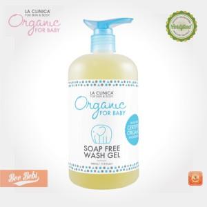 Sabun Bayi Organik La Clinica Soap Free Wash Gel 500ml