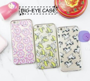 big eyes case mata pop corn cat donat samsung galaxy J1/Grand prime/A5