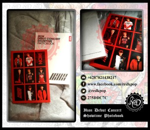 [READY STOCK] Ikon Debut Concert Showtime Photobook + Sticker