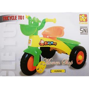 harga Sepeda anak roda tiga, dengan klakson yang imut berbentuk katak Tokopedia.com