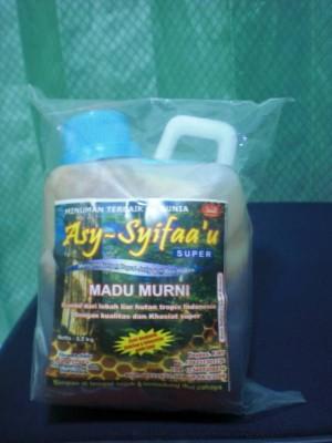 Madu Hutan As Syifau+Bee Pollen 1 Kg