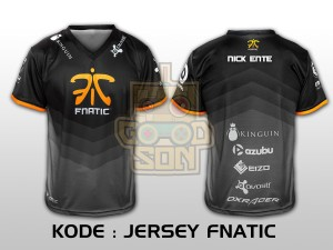 JERSEY / KAOS TEAM GAMING DOTA 2 FNATIC