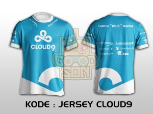 JERSEY / KAOS TEAM GAMING DOTA 2 CLOUD9