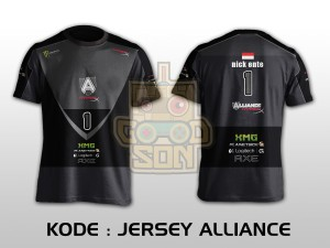 JERSEY / KAOS TEAM GAMING DOTA 2 ALLIANCE