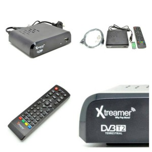 Xtreamer Set Top Box DVB-T2 BIEN and Media Player - Black