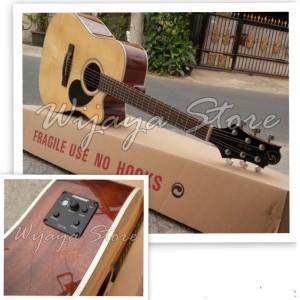 harga Gitar Original Akustik elektrik Greg bennet GD70CE samick Tokopedia.com