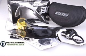 Kacamata ess Crossbow outdoor tactical military glasses 3 lens