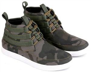 sepatu casual pria motif loreng army/sepatu trendy/sepatu gaya e 041
