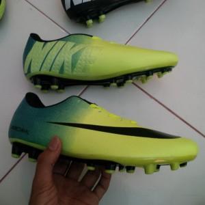 Jual Sepatu Bola Nike Mercurial Vapor IX Hijau Cyan Terbaru 2015 Murah