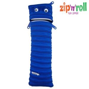 harga Tempat Pensil Zip n Roll - STATIONERY POUCH MONSTER [SP-002] Biru Tokopedia.com
