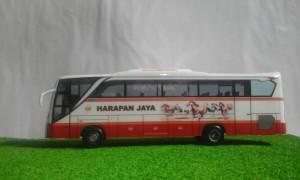 harga miniatur bus harapan jaya Tokopedia.com