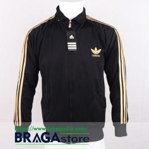 harga Jaket Adidas Firebirds Black - Gold, Jaket Casuals Tokopedia.com