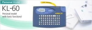 Label Printer Casio KL-60 (Machine + tape)