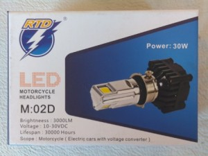 harga Lampu LED Headlamp Motor RTD 3 Sisi Tokopedia.com