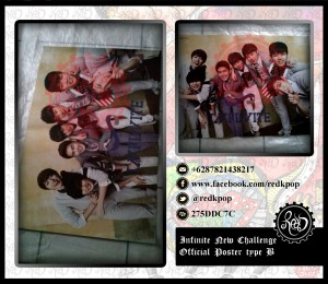[READY STOCK] Official Poster Infinite New Challenge A / B