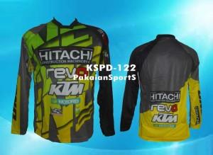 harga Jersey Sepeda DH/Motocross Lengan Panjang Hitachi-KTM, KSPD-122 Tokopedia.com