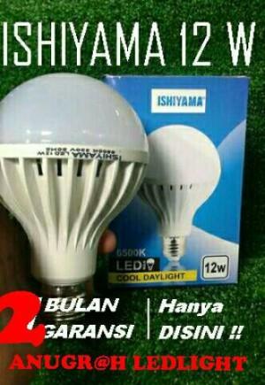 LAMPU LED 12 WATT ISIYAMA EXTRA TERANG