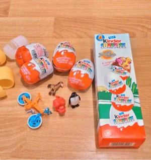 harga Kinder Surprise 4 eggs Tokopedia.com