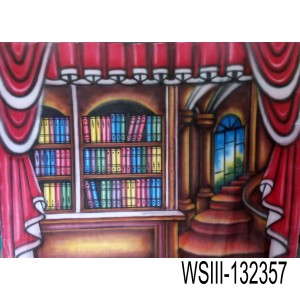 WSIII_132357 Background Wisuda/ rak buku