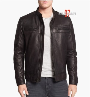 harga jaket kulit asli GARUT KG 97 134 New Sporty Tokopedia.com