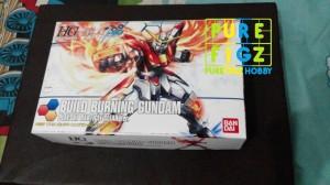 HGBF HG Build Burning Clear Version Gundam