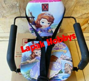 Kursi Bonceng Anak Motor Matic / Manual Gbr Princess SOFIA