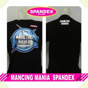 harga kaos mancing mania spandex Tokopedia.com