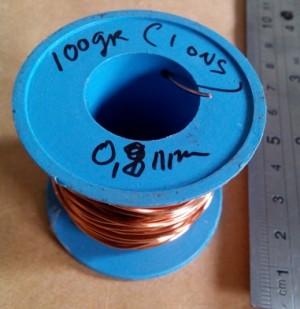 Kawat email 0,8 mm diameter [ AWG20]
