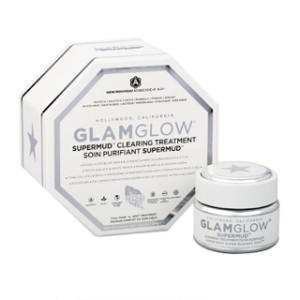 [ FULL JAR / BOX ] GLAM GLOW PUTIH (Super Mud Mask ) ORIGINAL