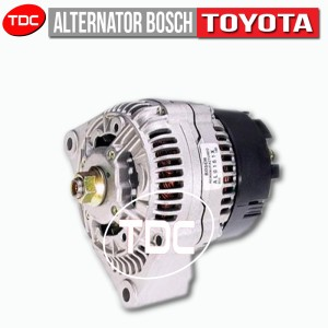 GREAT COROLLA BOSCH ALTENATOR / AMPERE DINAMO SPARE PART TOYOTA by TDC