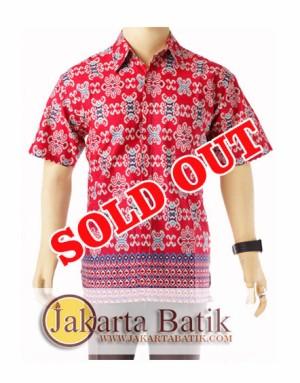 Jual Batik SongketJB271  Kemeja Batik Pria  Grosir baju batik