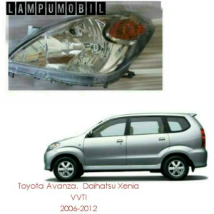 Lampu Depan Toyota Avanza. Daihatsu Xenia 2006-2011