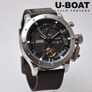 jam tangan U-BOAT Autometic Silver