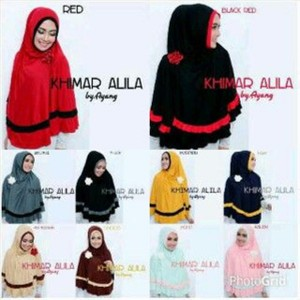 harga Model Baju Gamis Hijab Jilbab Instant Khimar Alila Tokopedia.com