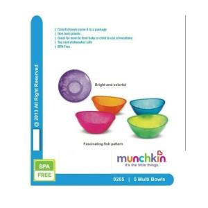 Munchkin set bowl / piring makan bayi / mangkok bayi