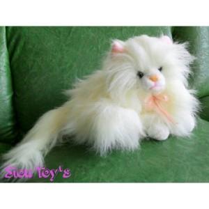 Boneka Kucing Anggora Cantik
