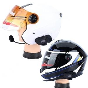 harga Bluetooth Interphone Headset Helm/Helem Motor 800 Meter Tokopedia.com