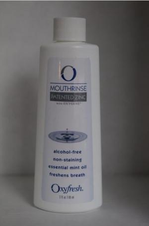 Obat Kumur Oxyfresh Patented Zinc Mouthrinse