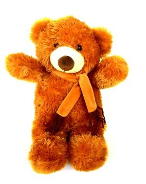 harga Boneka Teddy Bear / Boneka Beruang pakai Syal Coklat tinggi 37cm Tokopedia.com