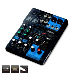 mixer yamaha MG 06 X original