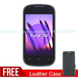 Smartphone Android Murah Berkualias TREQ Tune 3G Hitam Ready BBM