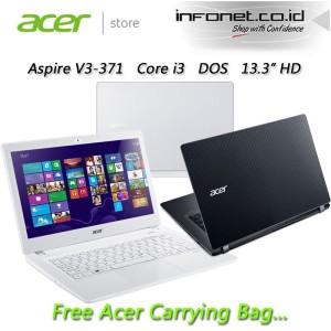 harga ACER ASPIRE V3-371 CORE-i3 GREY Tokopedia.com