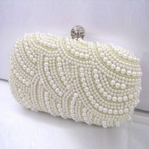 harga TAS PESTA MUTIARA WHITE HANDMADE BEADED CRYSTAL PEARL EVENING CLUTCH Tokopedia.com