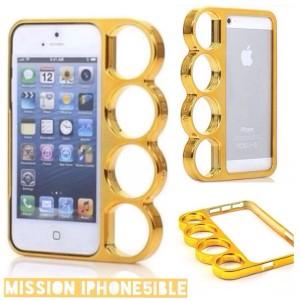 harga Knuckle Case Iphone 5 5s - Gold Tokopedia.com