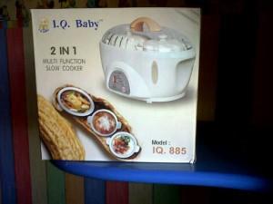 harga Slow cooker 2 in 1 IQ BABY Tokopedia.com