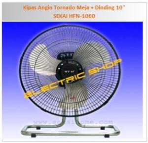 Kipas Angin Tornado Meja + Dinding 10