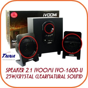 iVOOMi IVO 1600U Speaker - Hitam