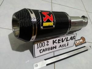 harga Knalpot karbon kevlar 100% ninja 250 fi /Z250/z250 SL/mono/CBR k45 Tokopedia.com
